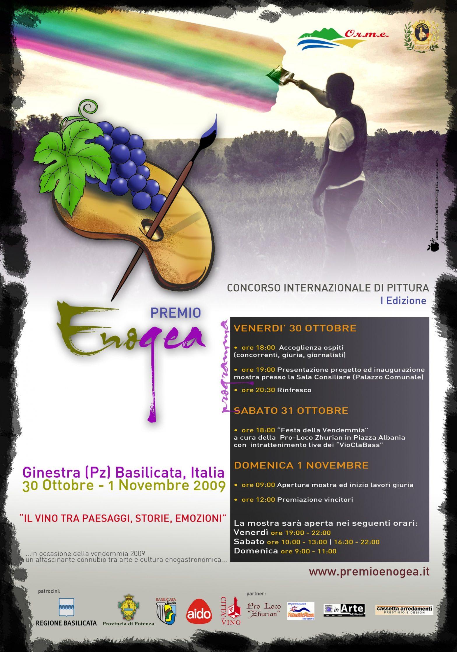 """Nasce a Ginestra il """"Premio Enogea"""" per la pittura"""
